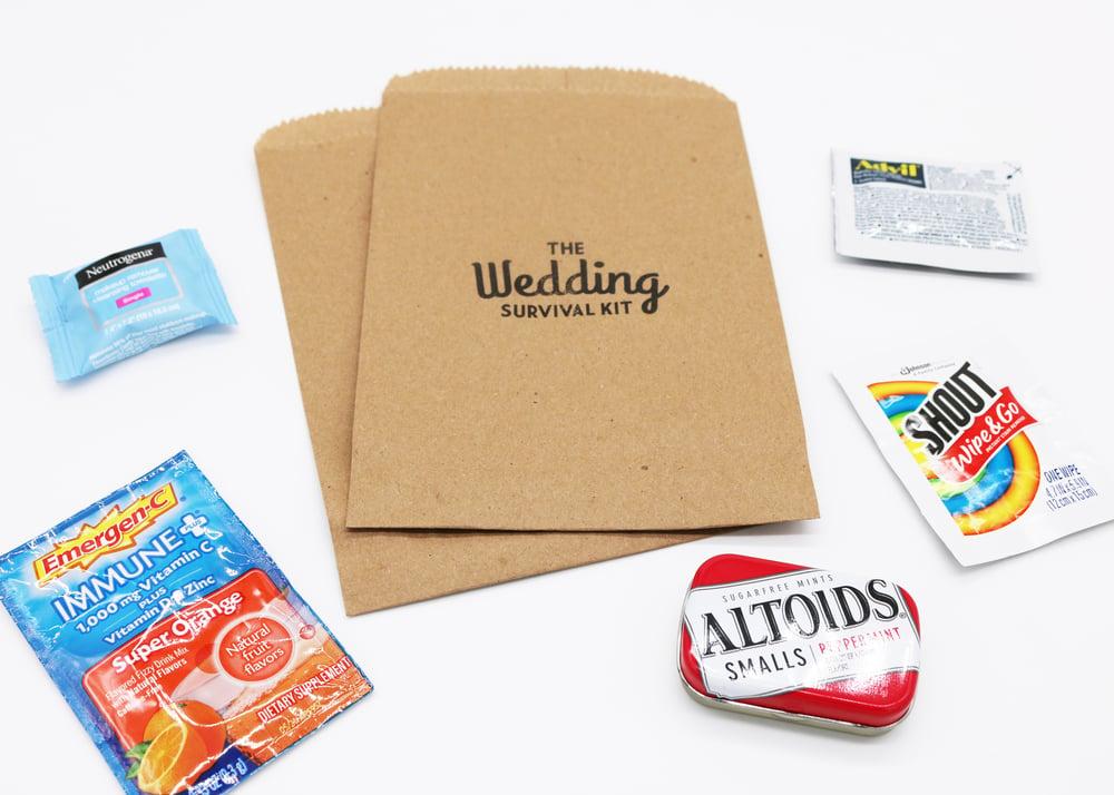 Image of The Wedding Paper Bag Survival Kit