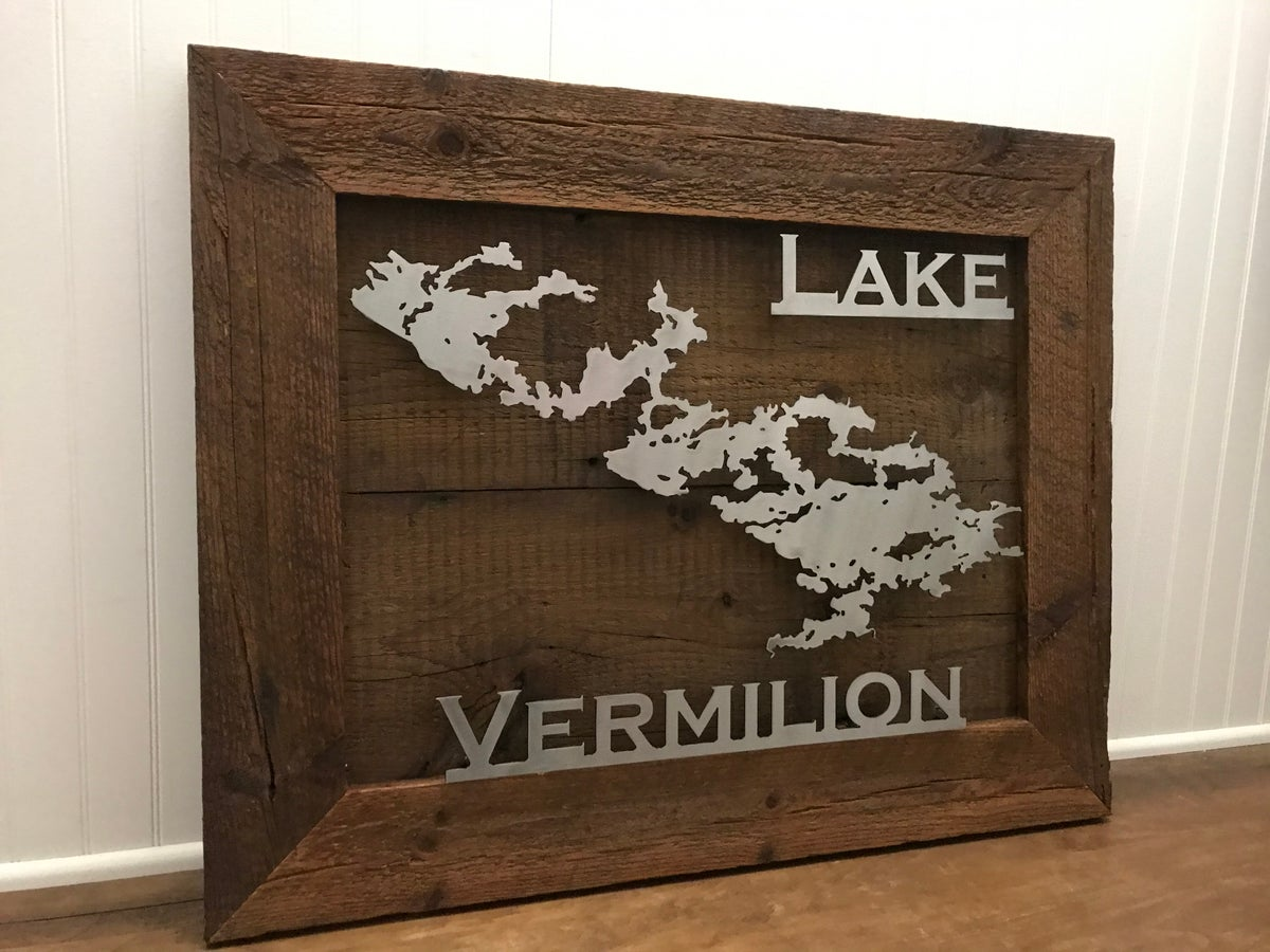 Lake Sign - Barnwood