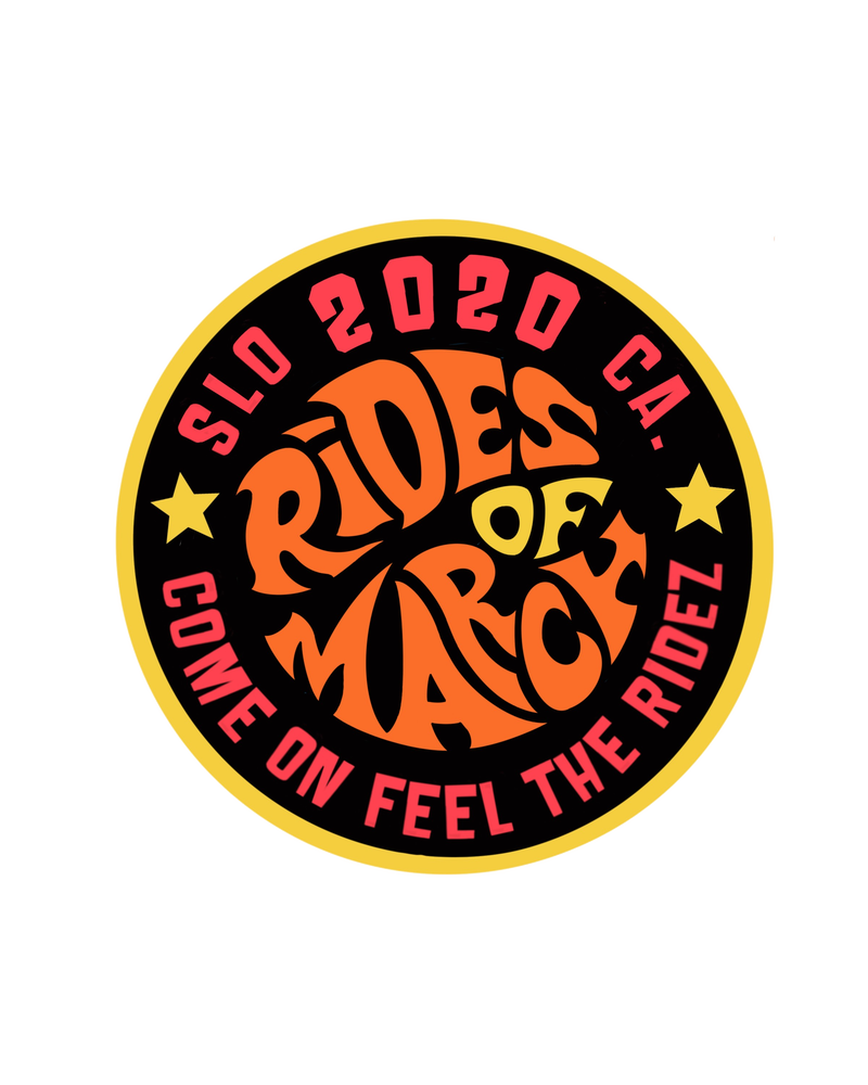 Image of Rides of March Embroidered Patch!