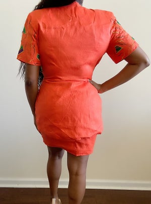 Image of Reconstructed Printed Feminine 2-Piece - M