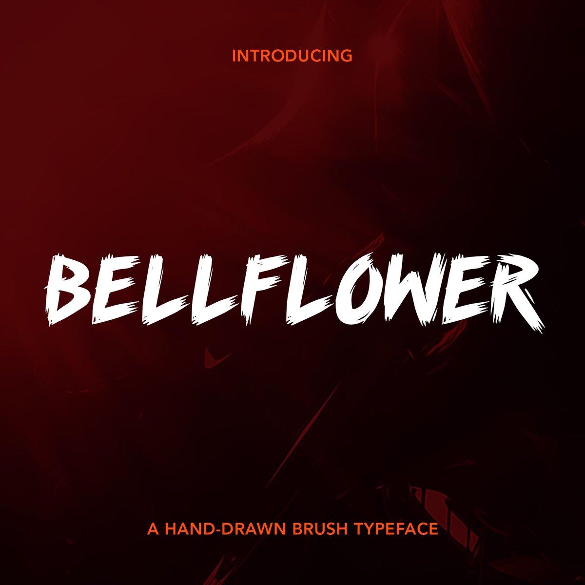"""Image of """"Bellflower"""" Font"""