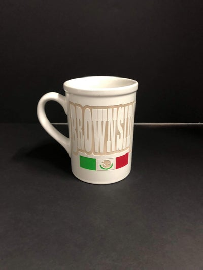Image of BROWNSIDE CERAMIC COFFEE MUG