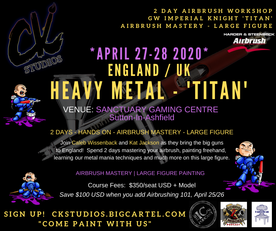 "Image of England/UK - ""Heavy Metal"" - Imperial Knight April 2020 with Caleb & Kat"