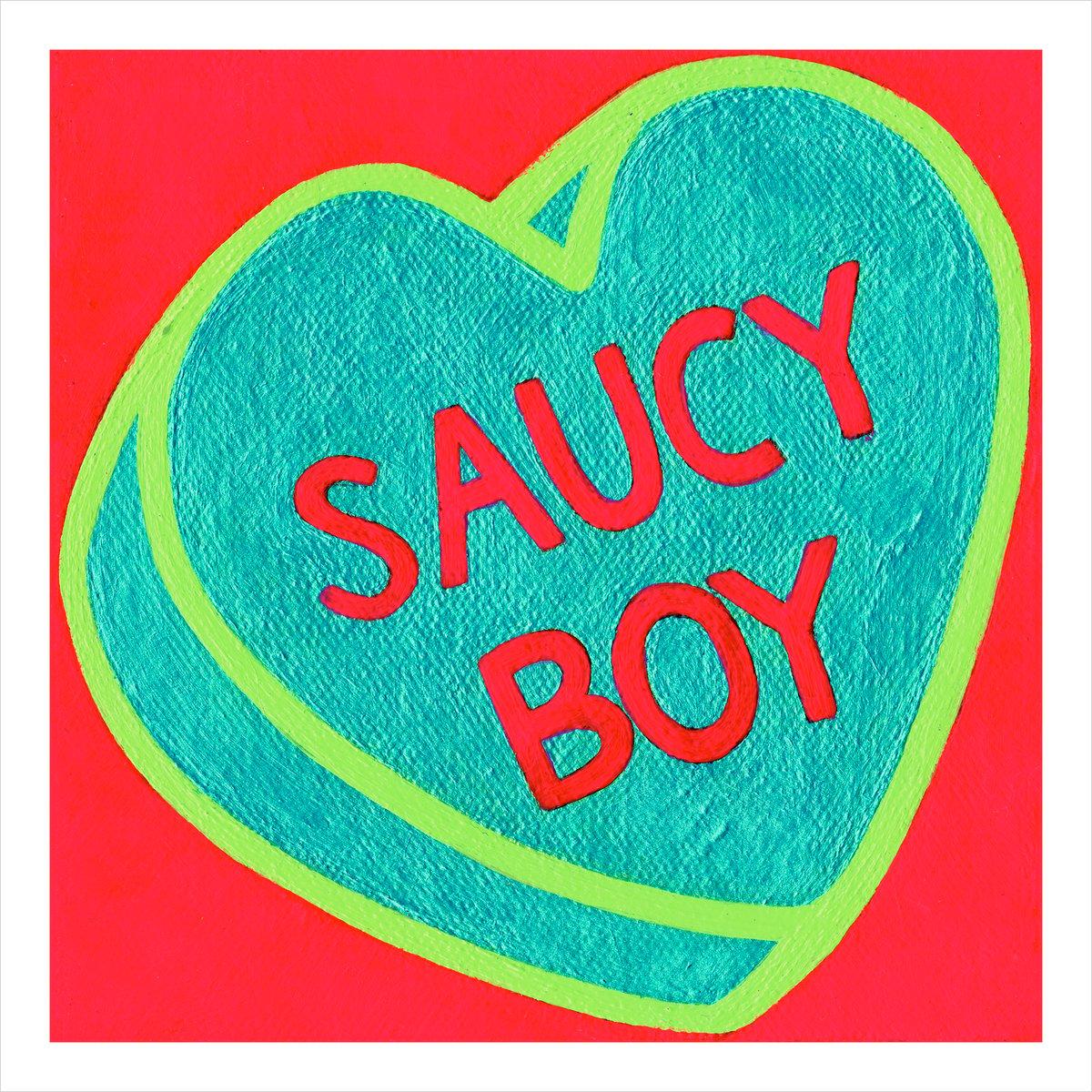 Image of Saucy Boy print