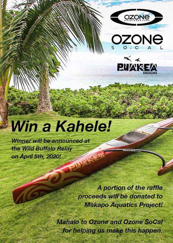 Image of WBR 2020 Puakea OC1 Raffle Ticket
