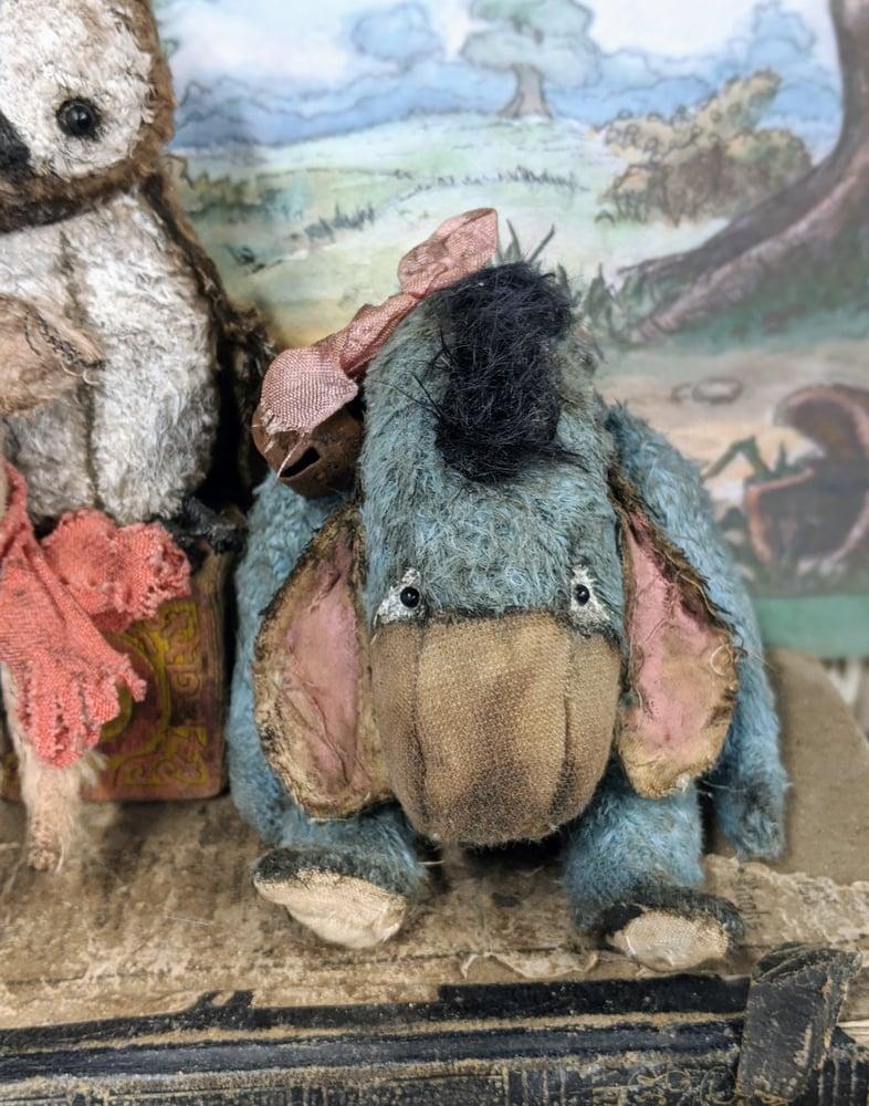 Image of Classic sad blue donkey Eeyore by whendis bears