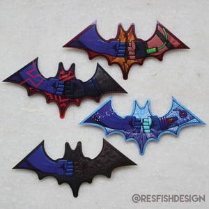 Image of Bat-Hero Stickers