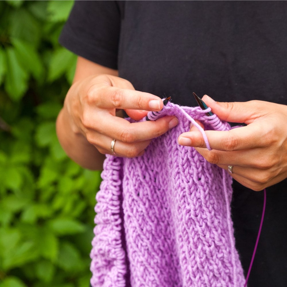 Image of Virtual Or IN PERSON Knitting Lessons
