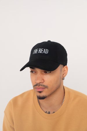 Image of The Read Logo Black Dad Hat