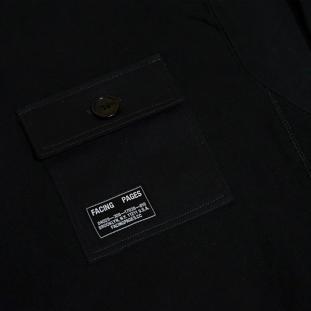 Image of UNIFORM CREWNECK, BLACK