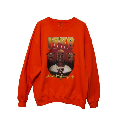 Image of DMX (Orange) [1998 4EV CREWNECK]