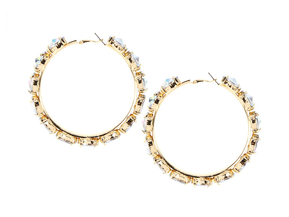 Image of Icee Iridescent Hoops