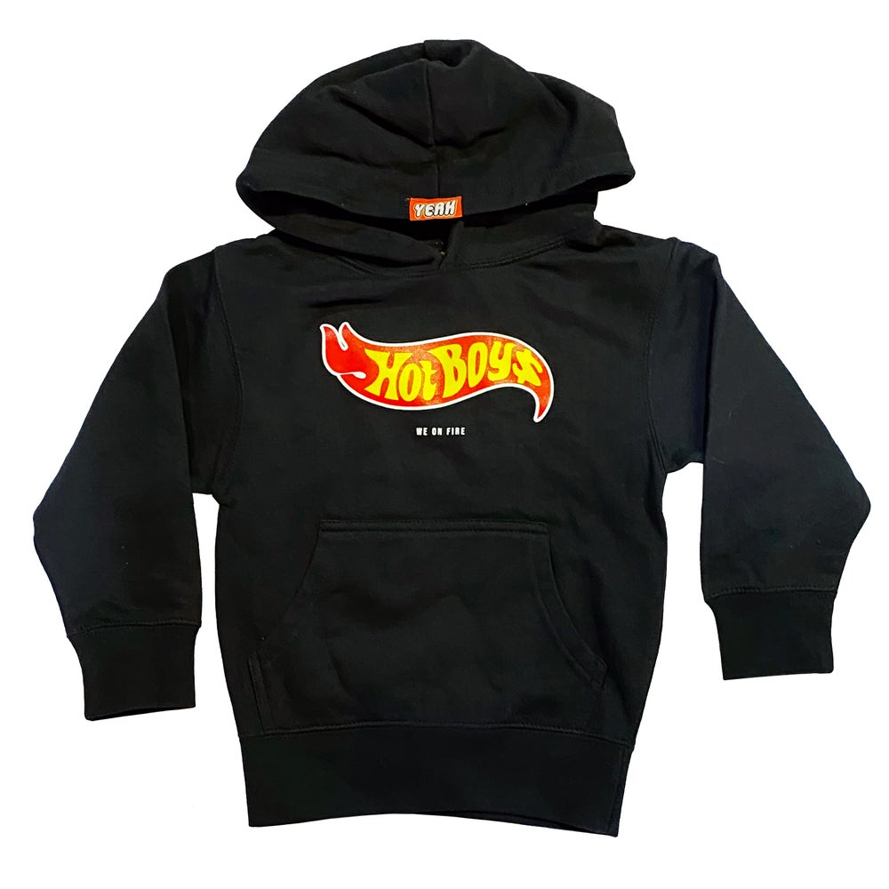 Image of BLACK HOODIE HOT BOYZ