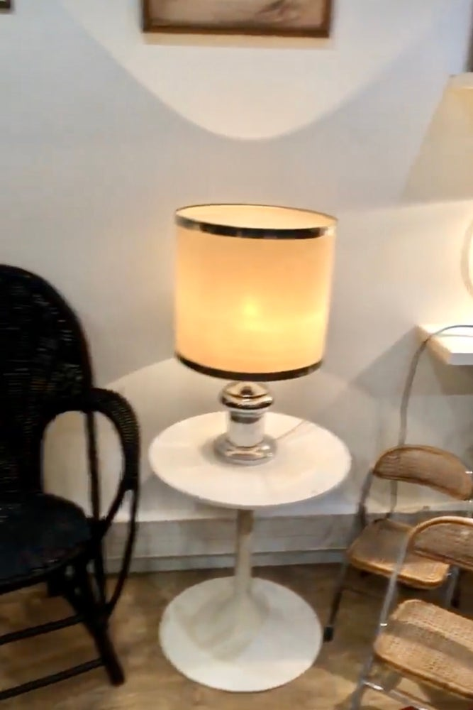 Image of Lampe vintage métal