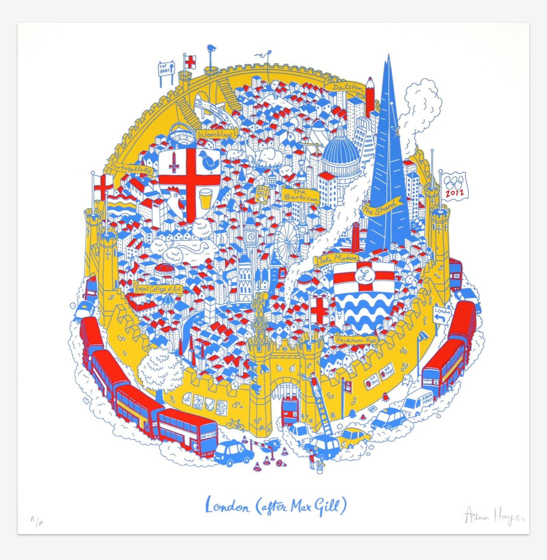 London (After Max Gill)