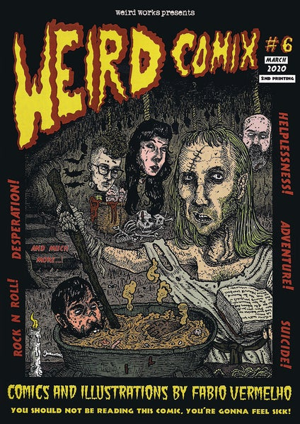 Image of Weird Comix #6 [2nd printing]