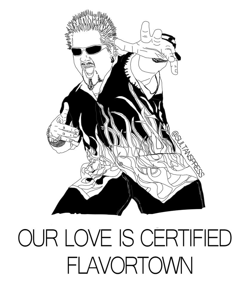 Image of Flavortown Card