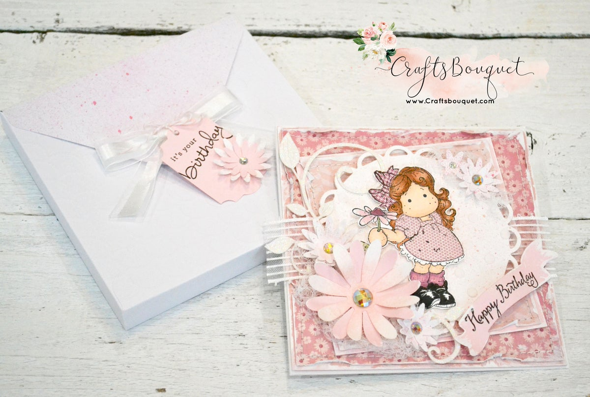 Image of SHABBY CHIC BIRTHDAY CARDS