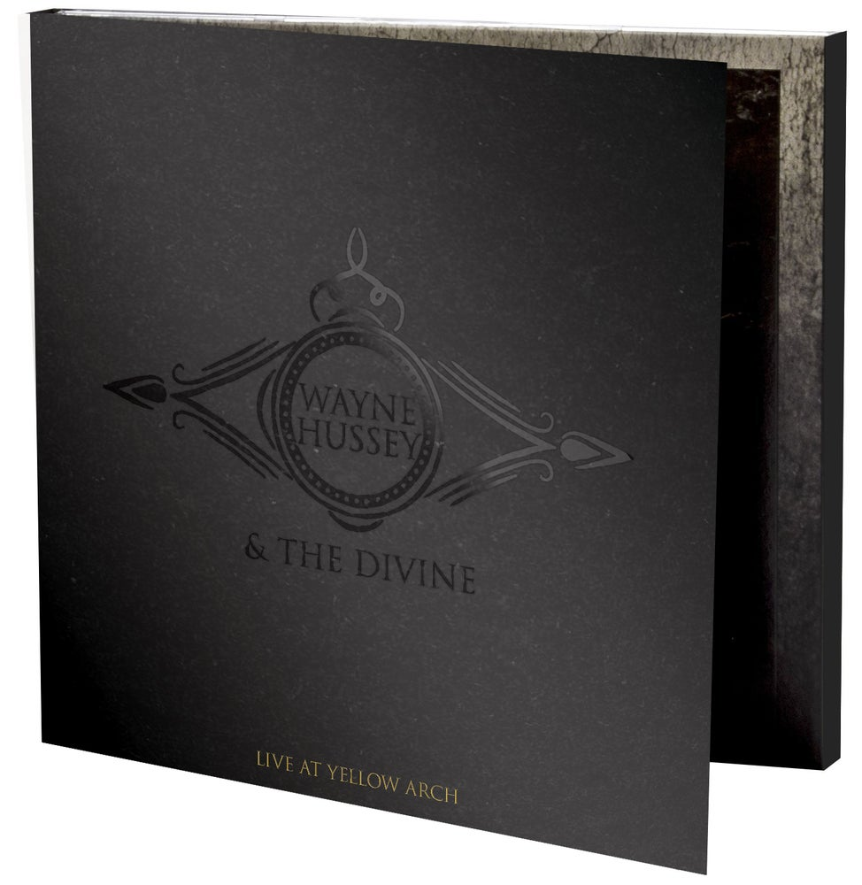 Image of Wayne Hussey & The Divine - Live at Yellow Arch - CD / Vinyl Bundle