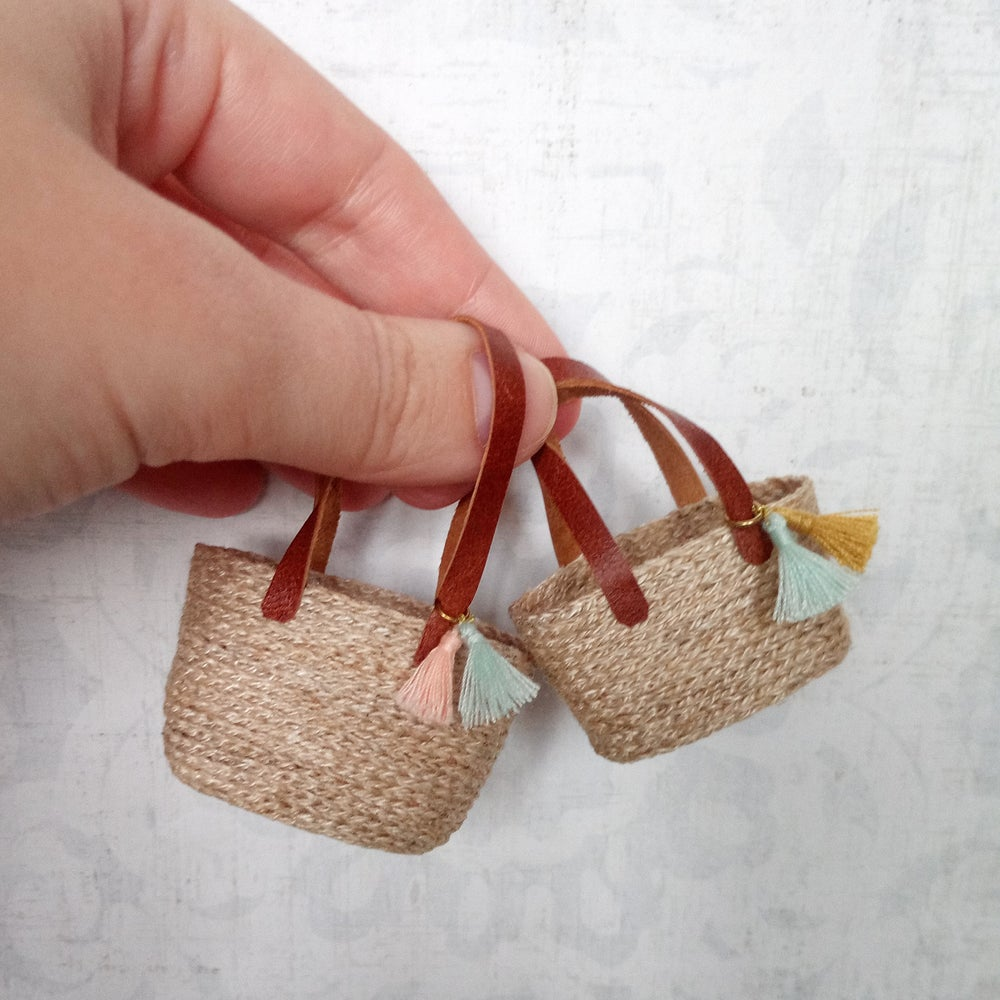 Image of Straw Bags- 2 sizes