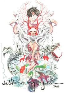 Image of Dustin Nguyen sketchbooks