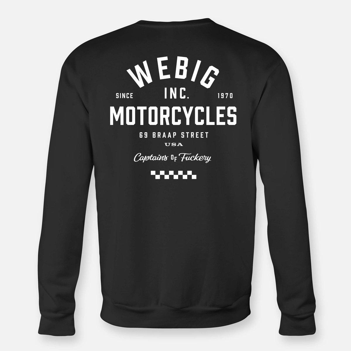 Image of WEBIG MOTOR SWEATSHIRT