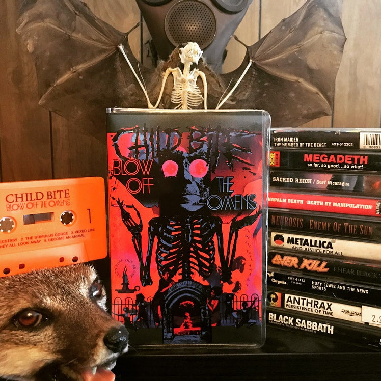 Image of Blow Off The Omens - Deluxe Limited Edition Cassette