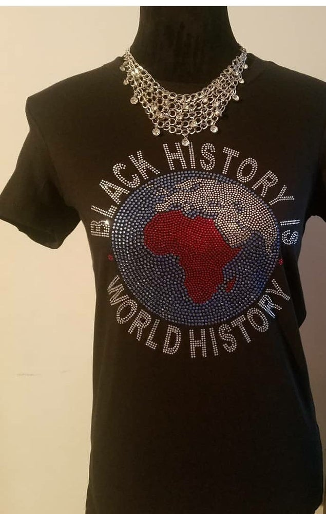 "Image of ""Sparkling"" Black History Shirts -2 Different Designs"