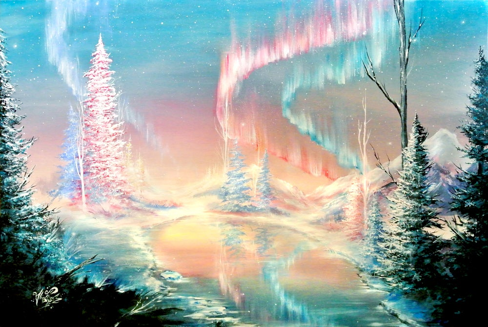 """Image of <font color=""""red"""">Clearance </font>""""A Place Called Home""""  Original Painting"""
