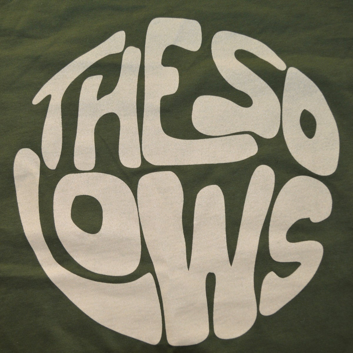 The So Lows High Vibrations T-Shirt (Olive Green)