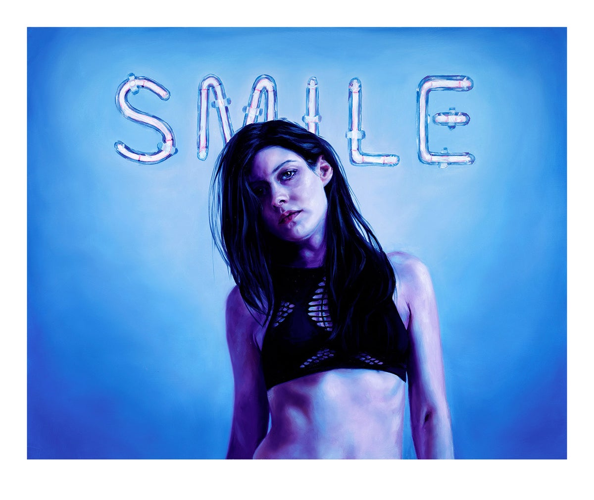Smile Limited Edition Print