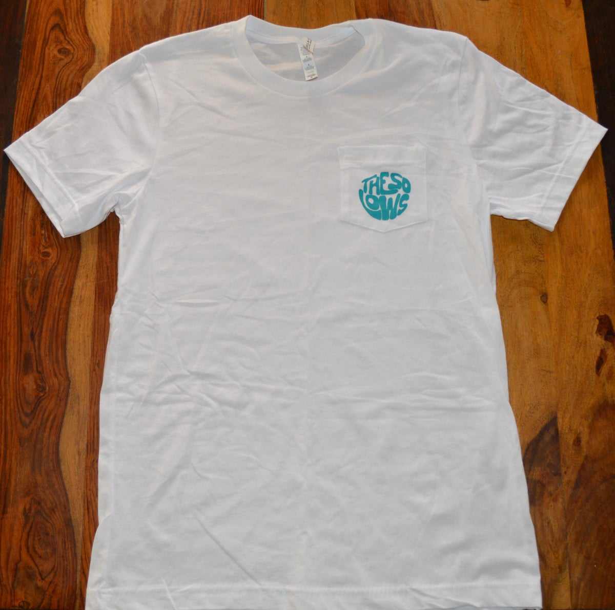 The So Lows High Vibrations T-Shirt (White Pocket Tee)