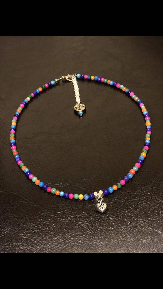 Image of Colorful choker