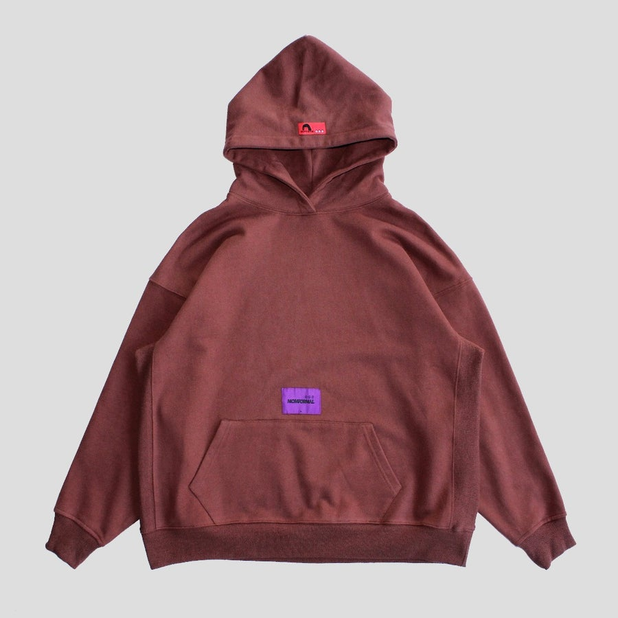 Image of TEST TYPE HOODIE (RUST)