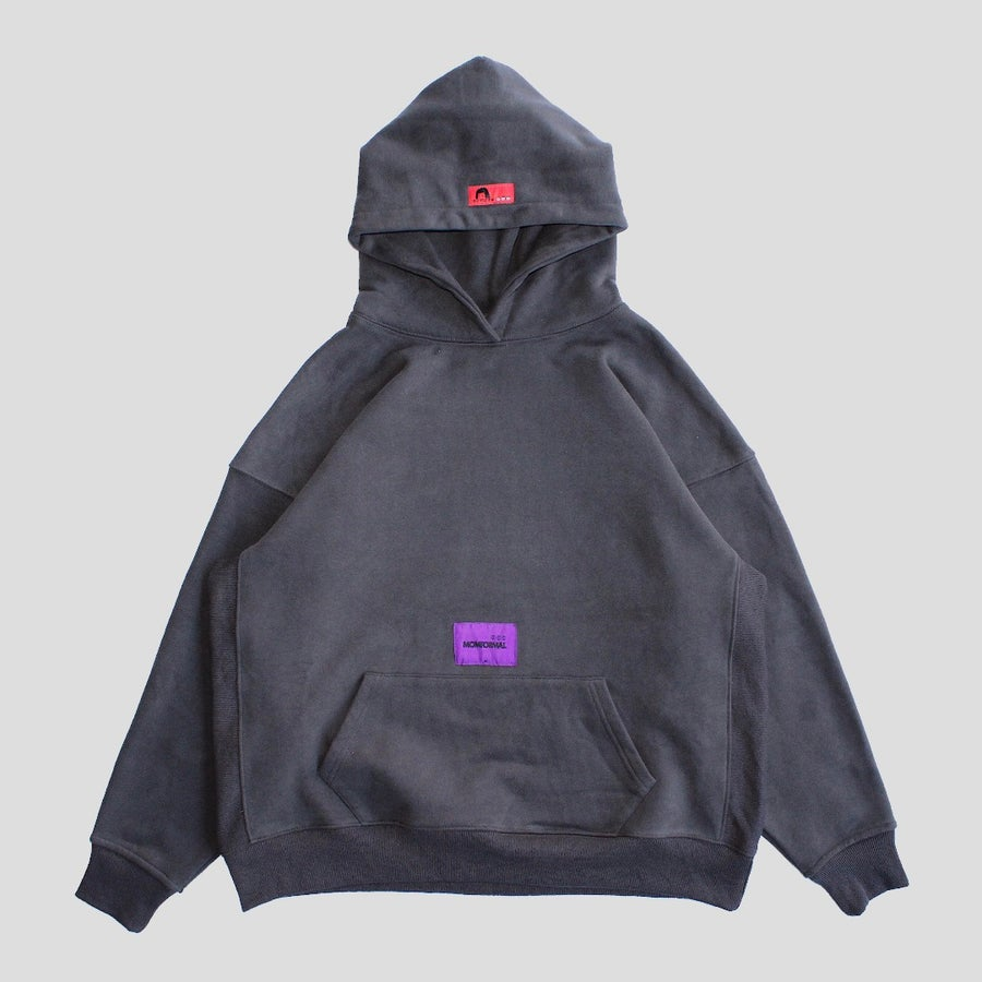 Image of TEST TYPE HOODIE (CHARCOAL)