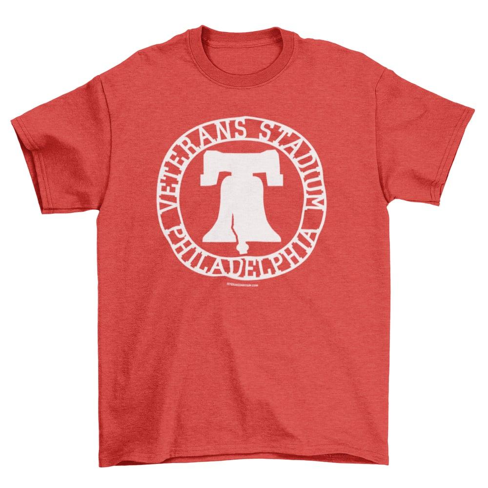 Image of Red Veterans Stadium T-Shirt