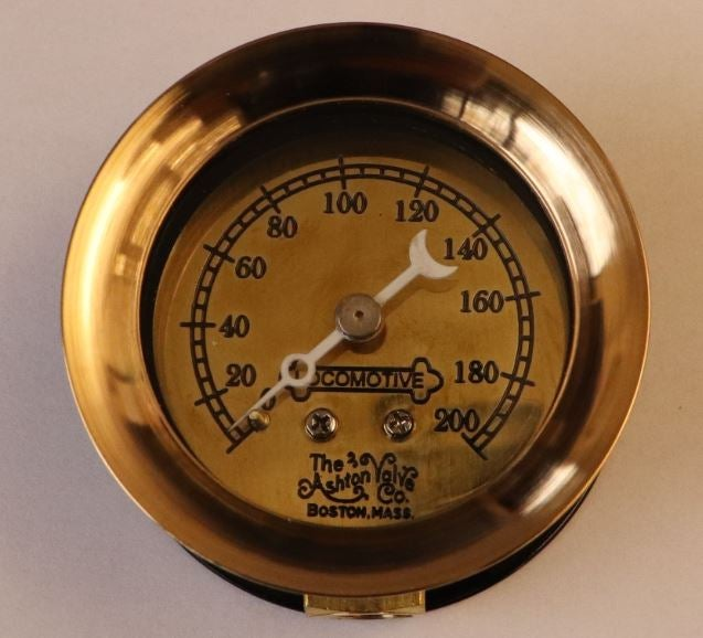 Image of 200PSIG Locomotive Pressure Gauge