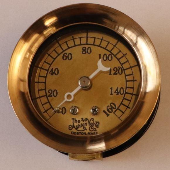 Image of 160 PSIG Pressure Gauge