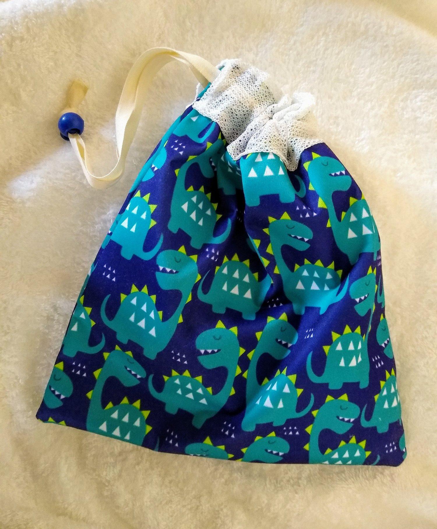 Image of Tubie Pads, Cloth Wipes Storage bag