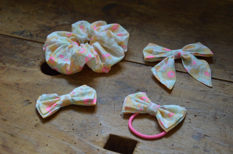 Image of chouchou, barrettes, élastique  betsy lemon curd