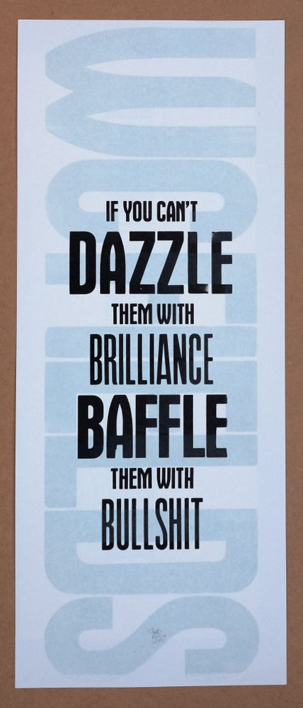 Image of Dazzle or baffle