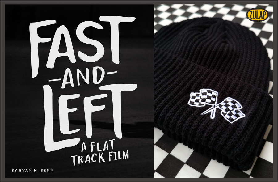 Image of Fast & Left - Racing Beanie