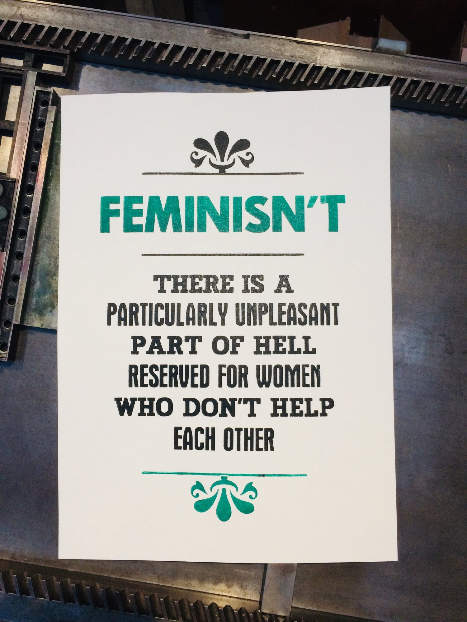Image of Feminisn't