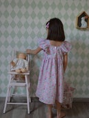 Image 1 of robe en Liberty Betsy amelie manches papillons
