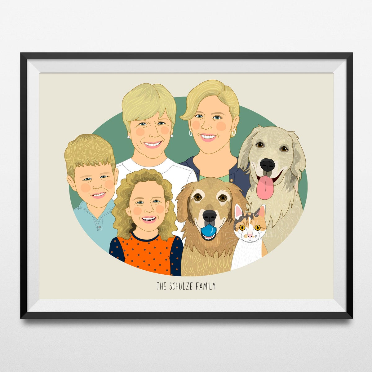 Image of Large family portraits. 5 or more people or pets.