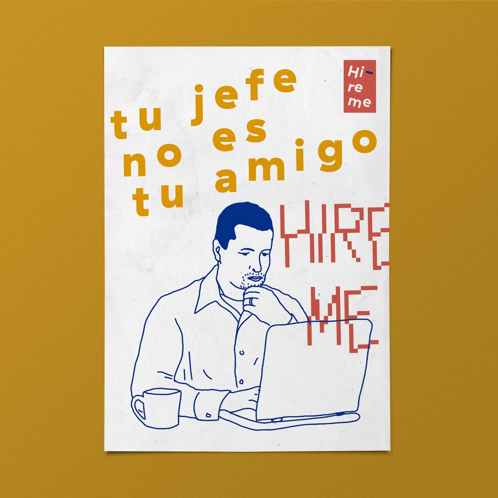 Image of Tu jefe/Print