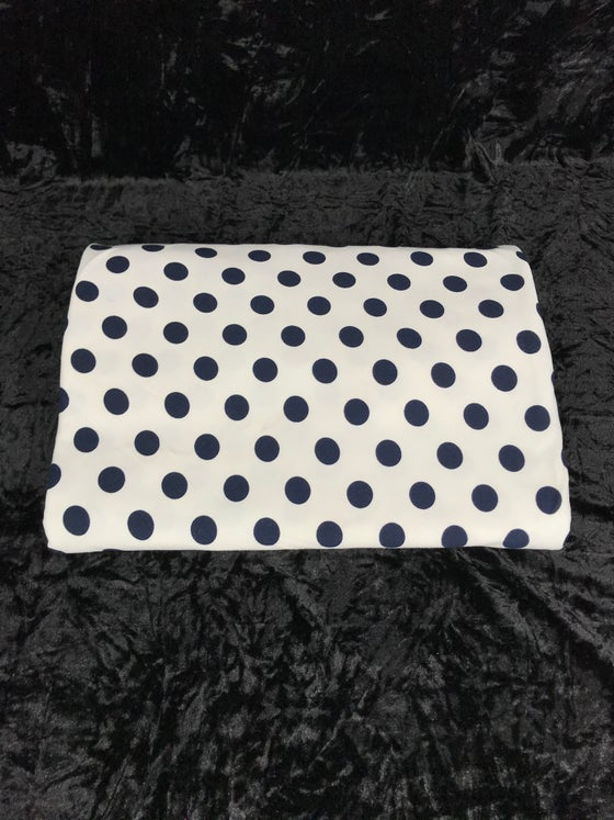 Image of Medium Polka Dots Brushed Poly