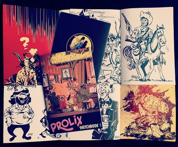 Image of Prolix Sketchbook 3