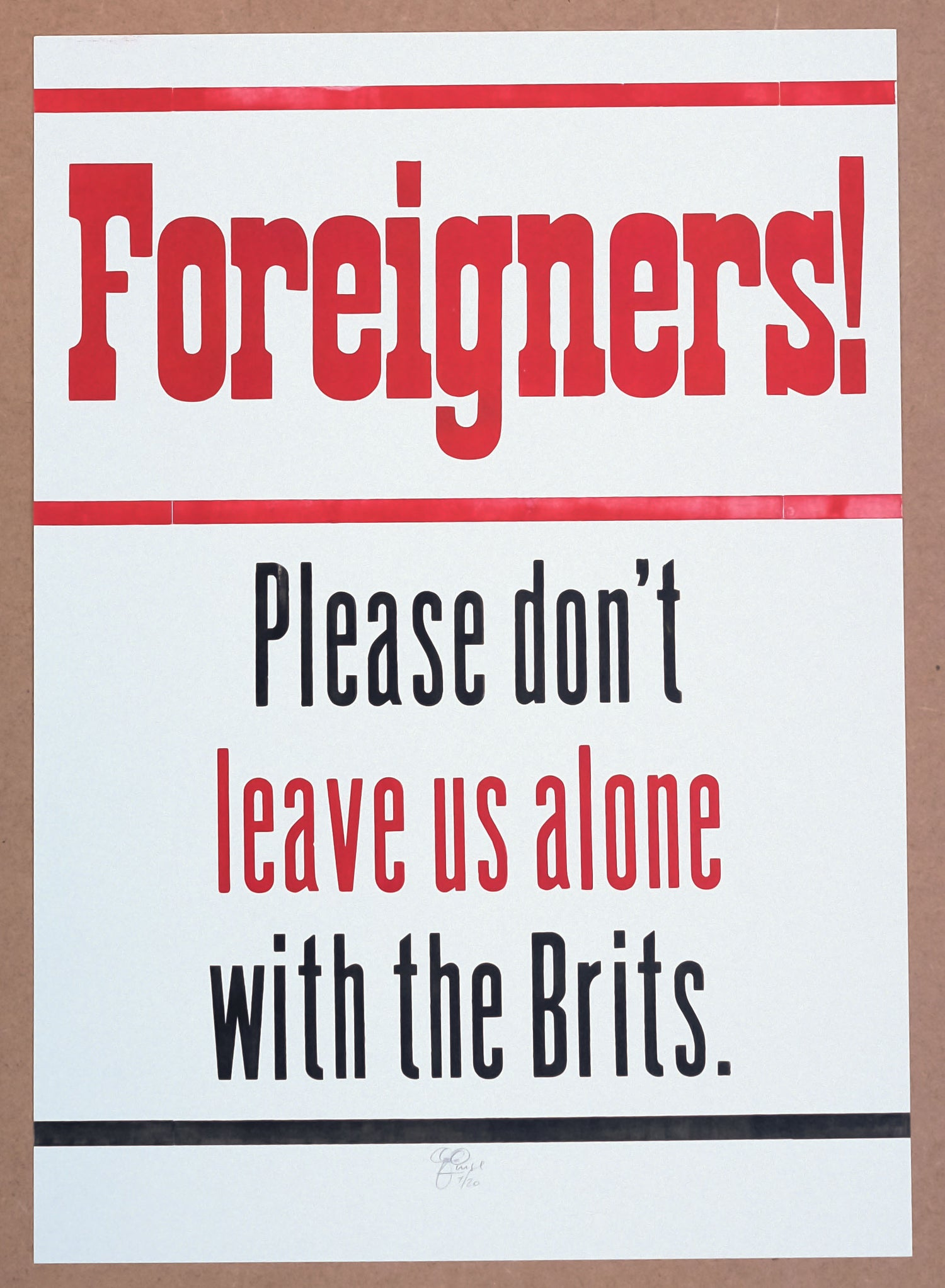 Image of Foreigners!