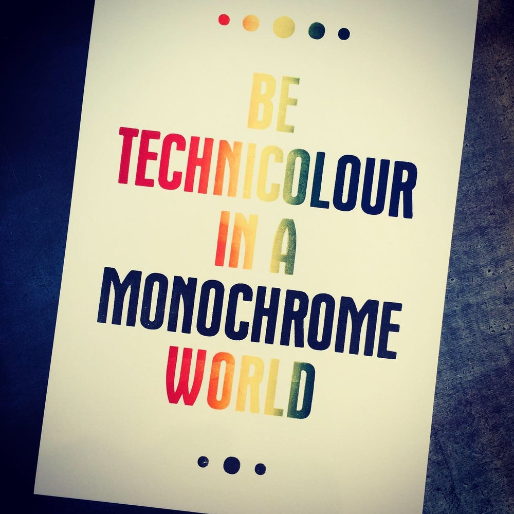 Image of Technicolour (A5)
